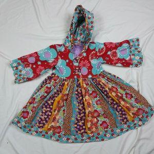Jelly The Pug Girls Hooded Dress Aspen Hannah 5